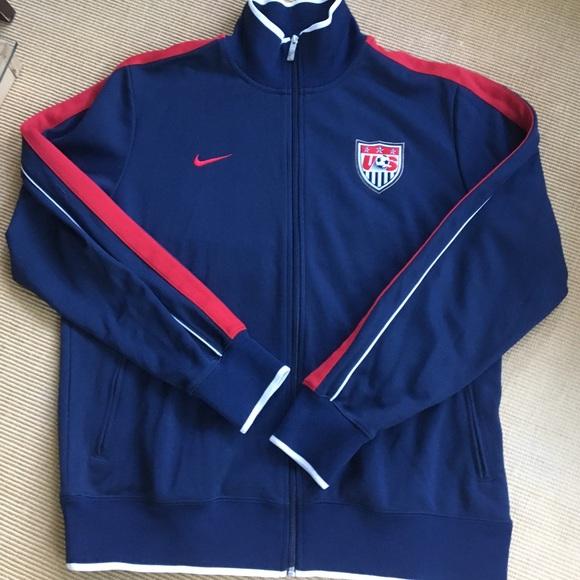 13bc591e1 Nike Jackets & Coats | Usa Soccer Track Jacket Vtg Xl Nice | Poshmark